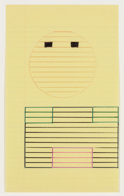 Keith Sonnier, 'Abaca Code Study', 1974