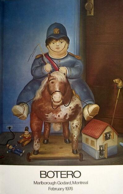 Fernando Botero, 'Child on Horse', 1975