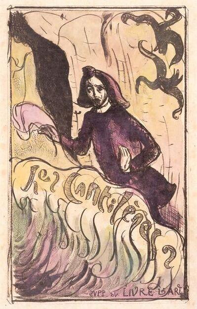 Émile Bernard, 'Les Cantilènes: Cover', 1892