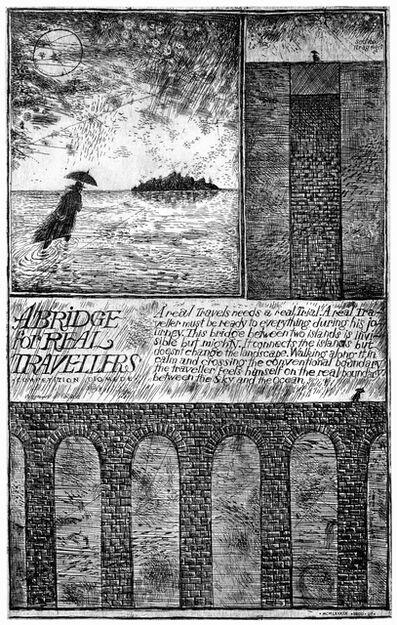 Brodsky & Utkin, 'Diomede I (Traveler's Bridge)', 1989-1990