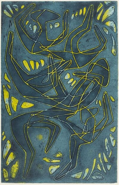 Helen Phillips, 'Saltimbanques', 1954
