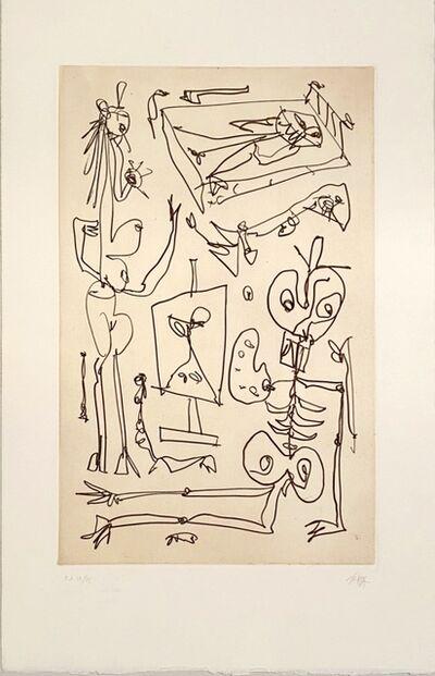 Antonio Saura, 'Cuento collazos', 1993