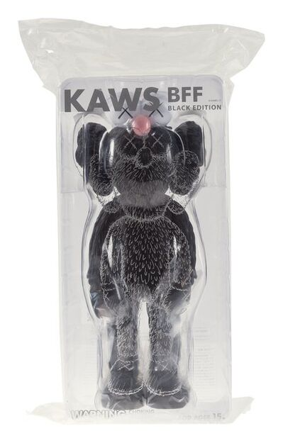 KAWS, 'BFF Companion (Black)', 2017