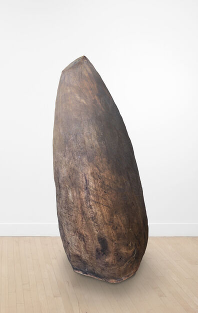 David Nash, 'Cracking Egg', 1997