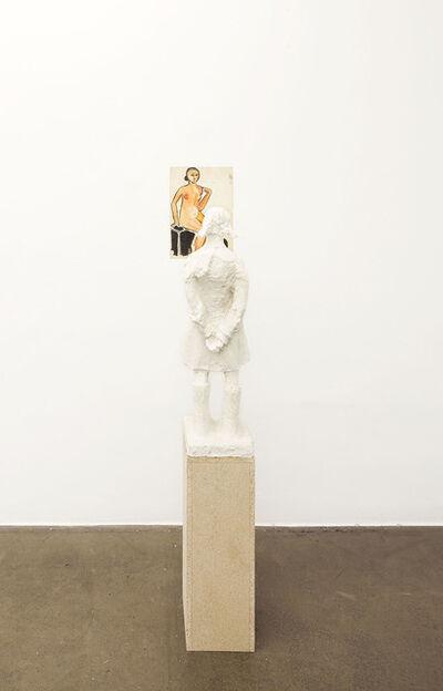 Dominik Lang, 'Two Pedestals', 2015
