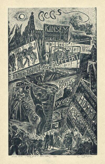 Letterio Calapai, '11:45 P.M.', 1947