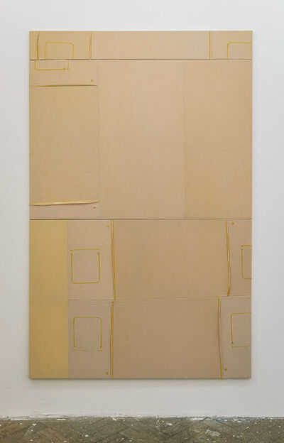 Samuel François, 'Untitled (BECAUSE THE SUN IS YELLOW 9/9)'