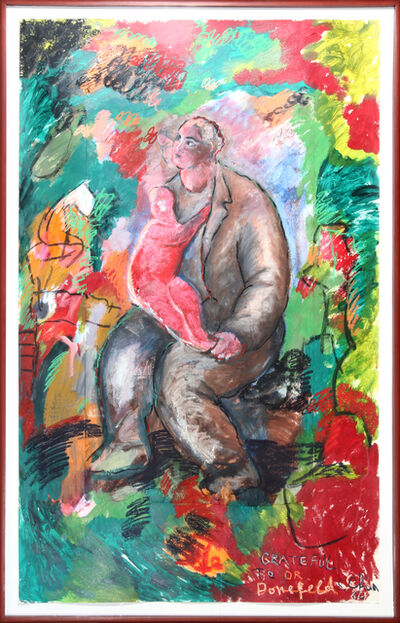 Sandro Chia, 'Father and Child', 1984