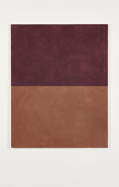 Peter Joseph, 'Red over Orange Ochre', 2003