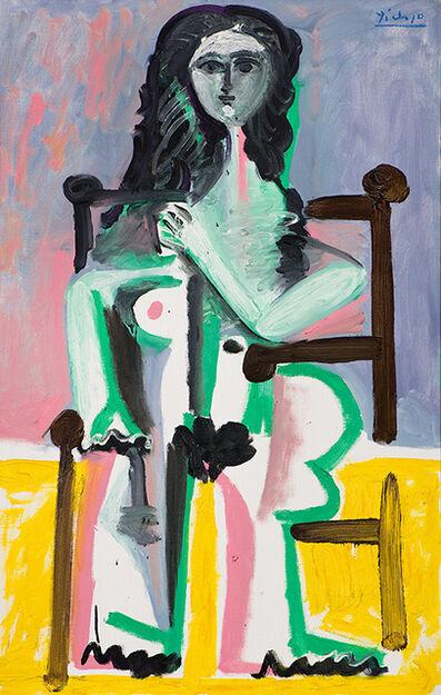 Pablo Picasso, 'Nu assis dans un fauteuil (II)', 1963