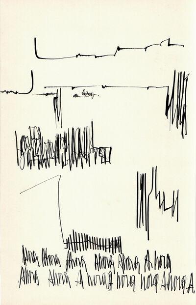 Mirtha Dermisache, 'Sin título (Texto)', ca. 1970