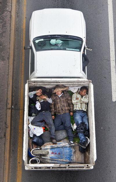 Alejandro Cartagena, 'Carpoolers #4', 2011