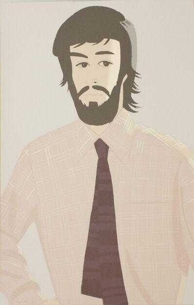 Alex Katz, 'Plaid Shirt I', 1981