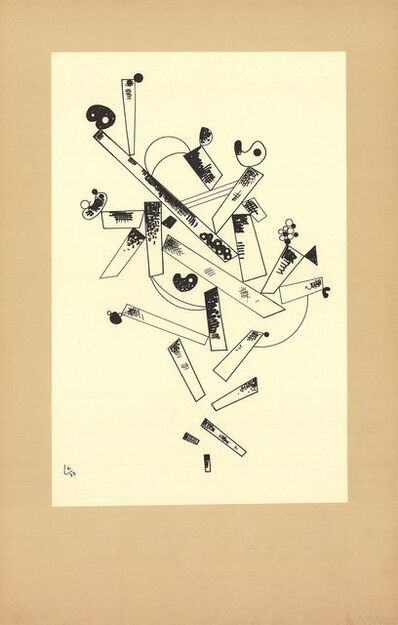 Wassily Kandinsky, 'Centenaire (No Text)', 1982