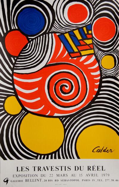 Alexander Calder, 'Les Travestis du Reel', 1979