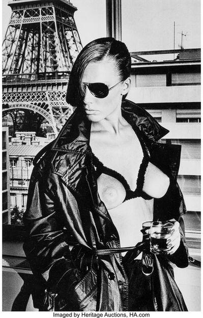 Helmut Newton, 'Bergström, Paris', 1976