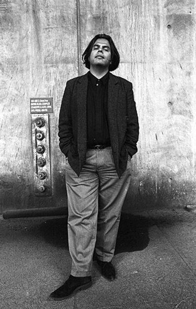 Harry Gamboa Jr., 'Oscar Garza, Arts Editor, Los Angeles Times', 1991