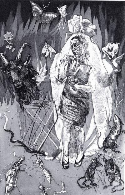 Paula Rego, 'Pendle Witches - Straw Burning', 1996