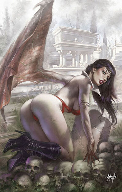 Lucio Parrillo, 'Vengeance of Vampirella #2', 2018