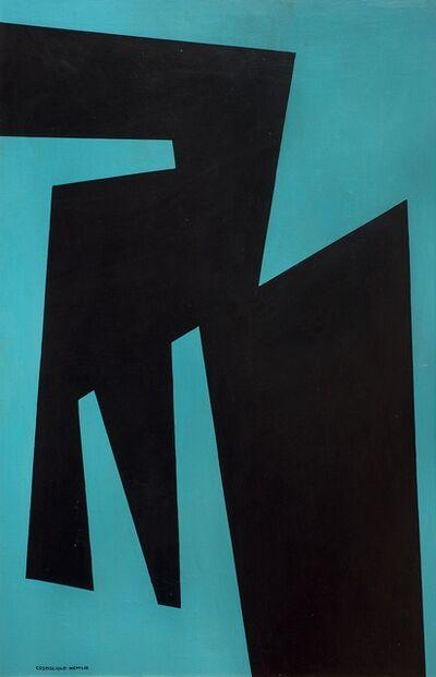 José Pedro Costigliolo, 'Forma Negra (Brussels series)', 1959