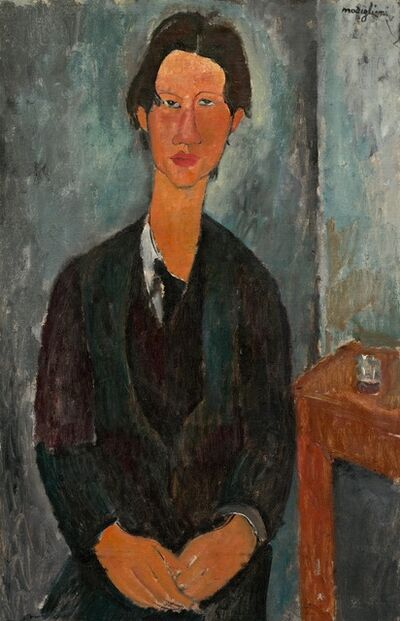 Amedeo Modigliani, 'Chaim Soutine', 1917