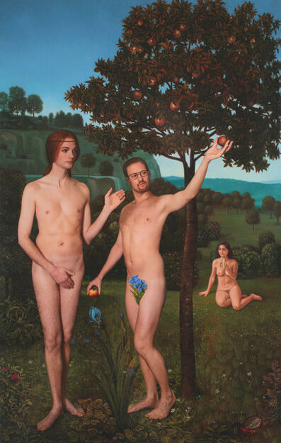 E2 - KLEINVELD & JULIEN, 'Adam and Steve, Ode to Hugo van der Goes' The Fall of Man', 2013