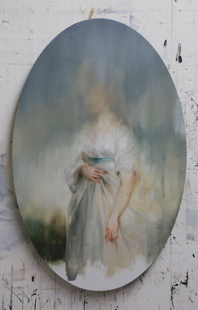 Jake Wood-Evans, 'Study for Princess Sophia, Daughter of George III, after Beechey', 2019