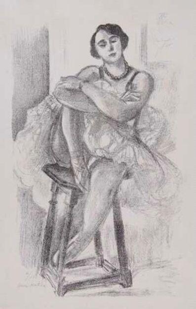 Henri Matisse, 'Danseuse au Tabouret', 1925-1926