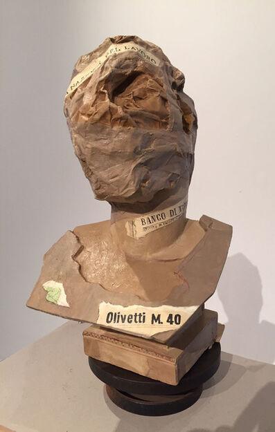 William Kentridge, 'Roman Head 2', 2014