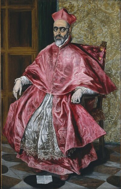 El Greco, 'Cardinal Fernando  Niño de Guevara (1541-1609)', ca. 1600
