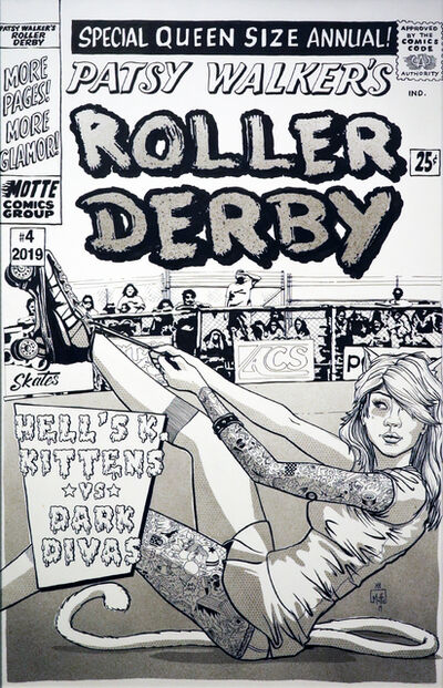 Motte, 'Patsy Roller Derby', 2019