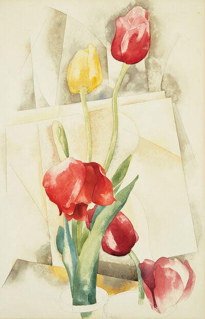 Charles Demuth, 'Tulips', 1924