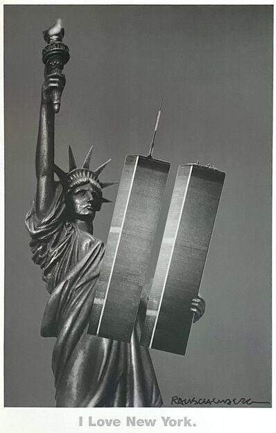 Robert Rauschenberg, 'I Love New York', 2001