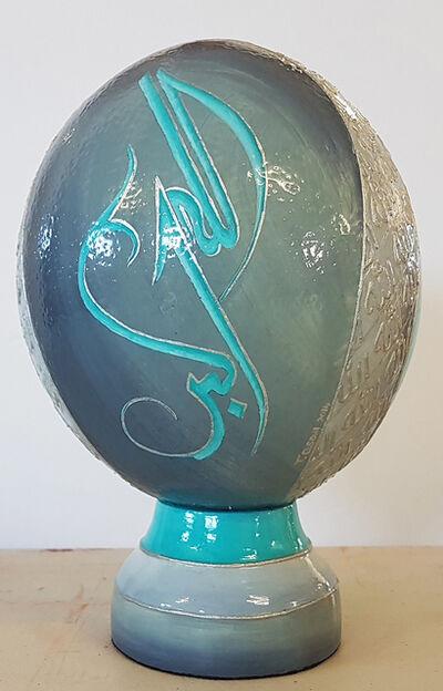 Tasneem Chilwan-Soni, 'Hand Painted Ostrich Egg Shell', 2015