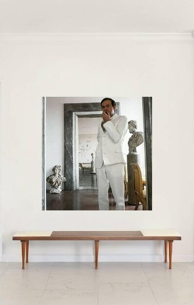 Horst P. Horst, 'Cy Twombly in Rome 1966 - Untitled #11, Large Canvas', 1966