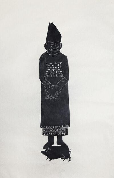 Leonard Baskin, 'Custos Morum', ca. 1950