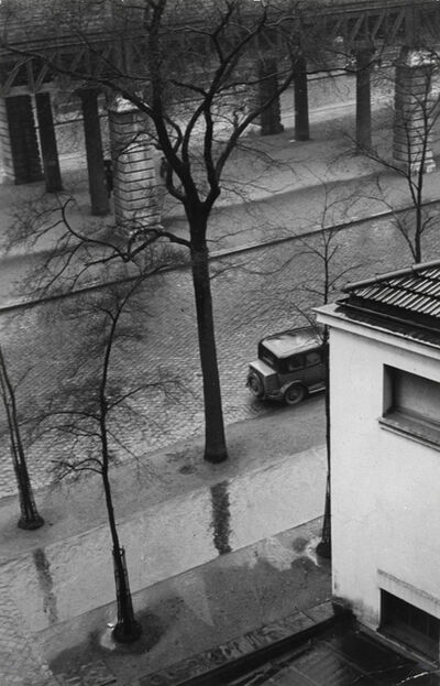 Brassai (Gyula Halasz), 'Wet Street From Above', 1932