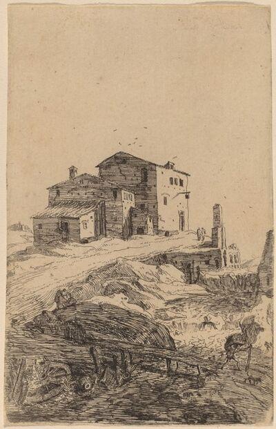 Bartholomeus Breenbergh, 'The Inn near Prima Porta'