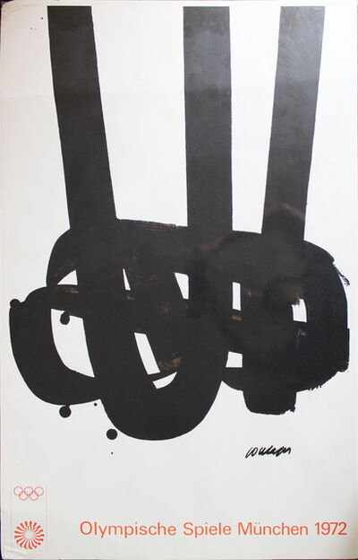 Pierre Soulages, '1972 Munich Olympic Games poster', 1972