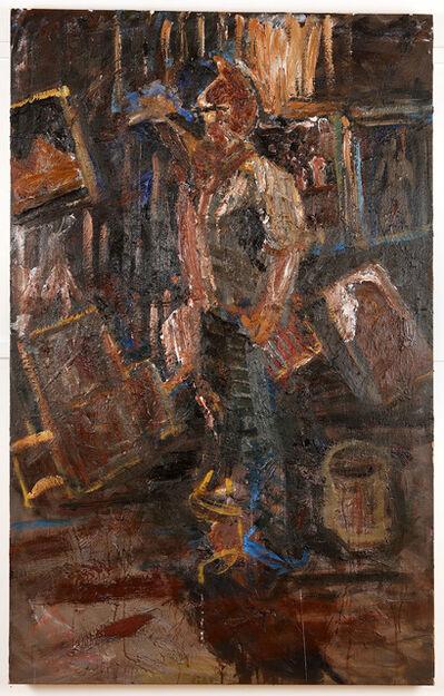 """Zebedee Jones, '""""Self Portrait in the Studio""""', 2018"""