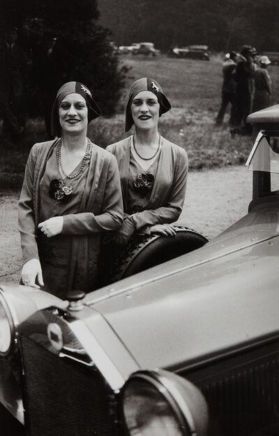 Jacques Henri Lartigue, 'The Famous Rowe Twins of the Casino de Paris', 1929