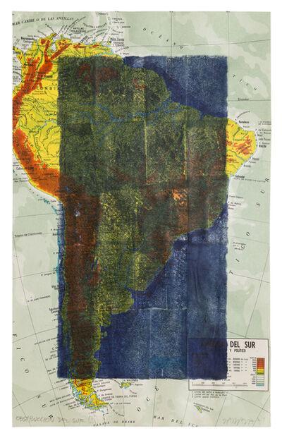 Horacio Zabala, 'Obstrucción del Sur I', 1974
