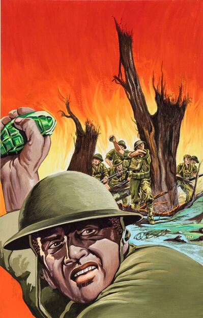 'Untitled (Army man throwing grenade)', c. 1960-75