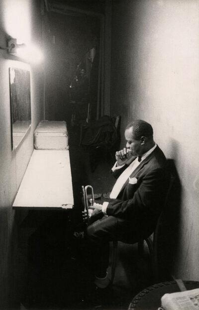 Dennis Stock, 'Louis Armstrong, Jazz Street', 1958