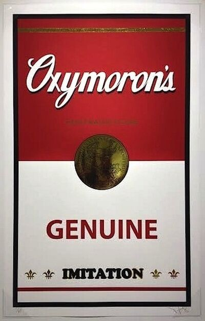 PlasticGod, 'Oxymoron's (Genuine Imitation)', 2014