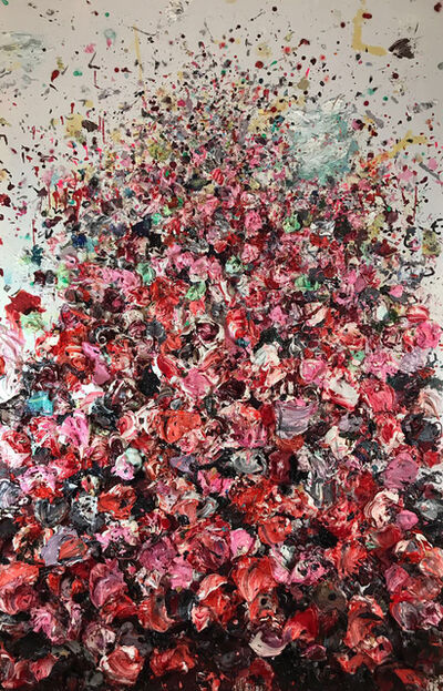Ismael Lagares, 'SCARLET RED', 2017