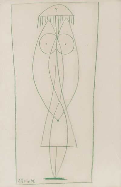 Pablo Picasso, 'Nu debout (Françoise)', 1946