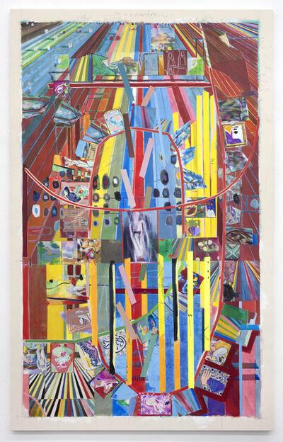 Franklin Evans, 'selfportraitasfranklinfootpath', 2018