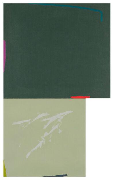 Dorothy Fratt, 'Hooligran Creek (diptych)', 1981