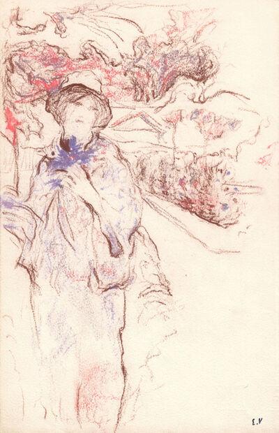 Édouard Vuillard, 'Lucie Hessel au jardin', 1910